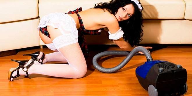 Fantasias sexuais - Empregada de Limpeza